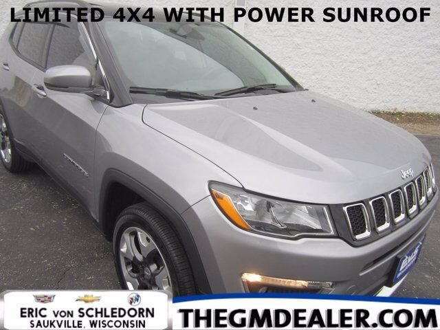 2018 Jeep Compass Limited 4WD 2.4L w/Sunroof 18s HtdLthr RearCamera Milwaukee WI