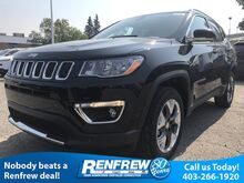 2018_Jeep_Compass_Limited 4x4, Heated Seats, Backup Camera, Touchscreen_ Calgary AB
