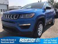 Jeep Compass Sport 2.4L 4x4/Back-Up Cam/Heated Seats 2018