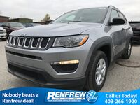Jeep Compass Sport 2.4L FWD/Remote Start/Back-Up Cam/Bluetooth 2018