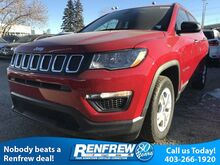 2018_Jeep_Compass_Sport 2.4L MultiAir Bluetooth/Keyless Entry_ Calgary AB