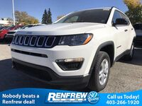 Jeep Compass Sport 2,4L 4x4/Back-Up Cam/Heated Seats 2018