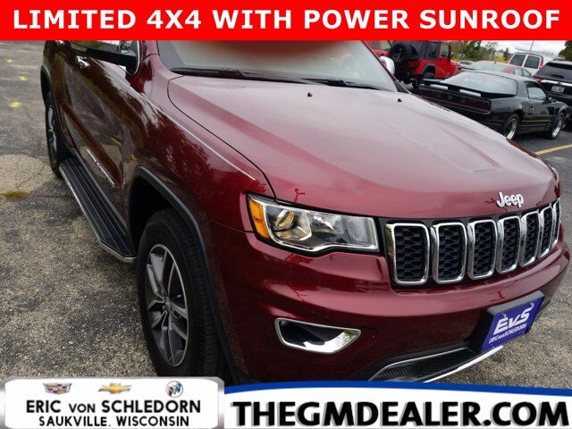 2018 Jeep Grand Cherokee Limited 4WD 3.6L BlindSpot&CrossDetectionGroup w/Sunroof RearCamera Milwaukee WI