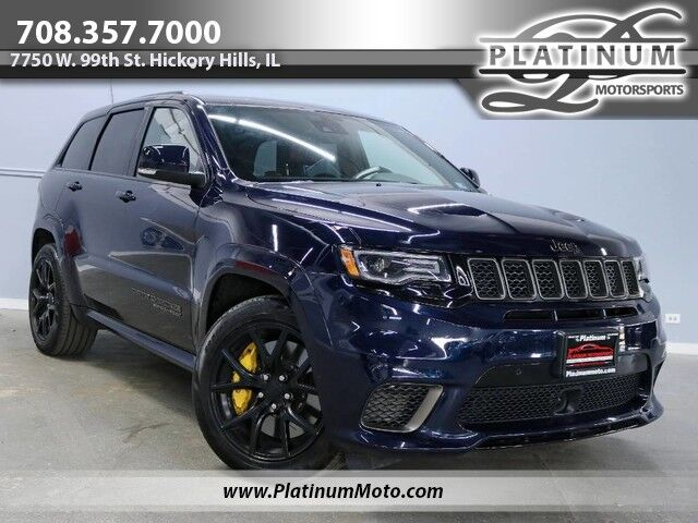 2018 Jeep Grand Cherokee Trackhawk 1 Owner Best Color Combo MSRP $98,270 Hickory Hills IL