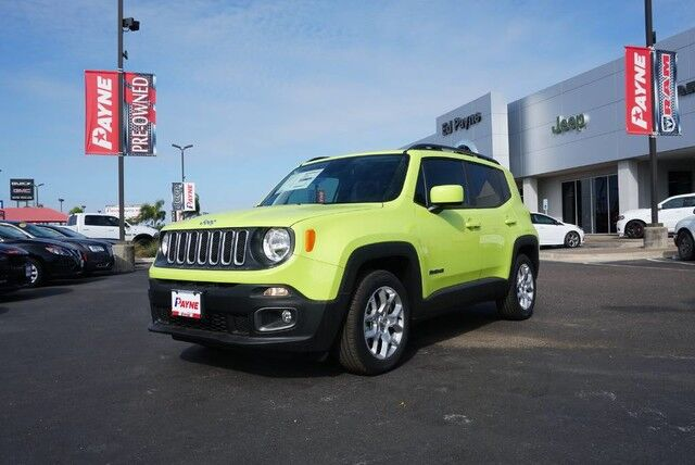 2018 Jeep Renegade Latitude  TX