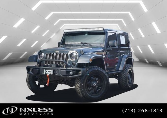 2018 Jeep Wrangler JK Golden Eagle Houston TX