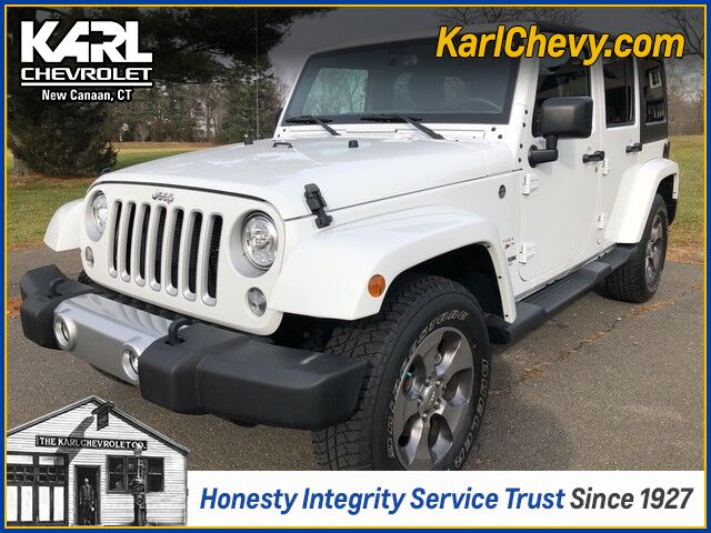 2018 Jeep Wrangler JK Unlimited Sahara New Canaan CT