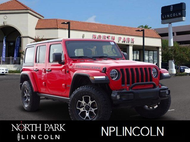 2018 Jeep Wrangler Unlimited Rubicon San Antonio Tx 27327010
