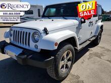 2018_Jeep_Wrangler Unlimited_Sahara  - Aluminum Wheels - $313 B/W_ 100 Mile House BC