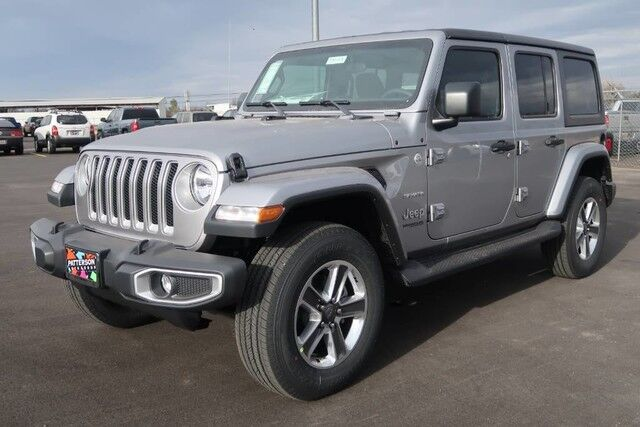 2018 Jeep Wrangler Unlimited Sahara Wichita Falls TX ...