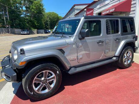 2018 Jeep Wrangler Unlimited Sahara Marshfield MA