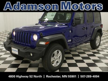 2018 Jeep Wrangler Unlimited Sport 4x4 Rochester MN