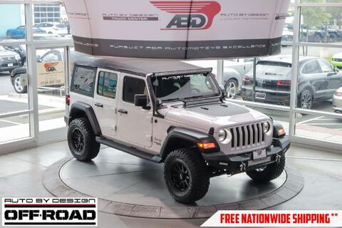 2018_Jeep_Wrangler_Unlimited Sport_ Chantilly VA