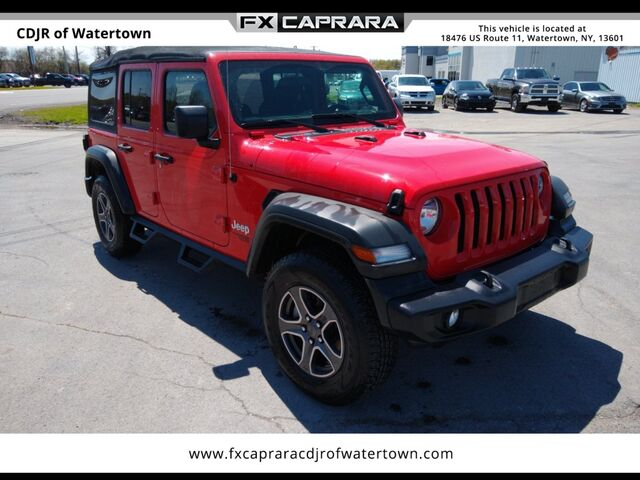 2018 Jeep Wrangler Unlimited Sport Watertown NY