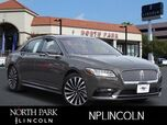 2018 LINCOLN Continental Black Label
