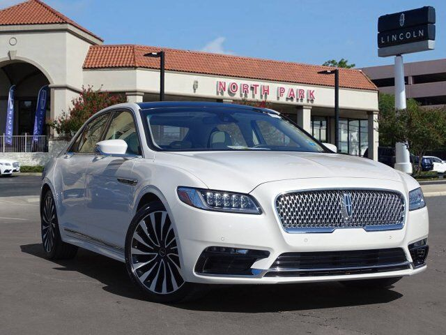 2018 LINCOLN Continental Black Label San Antonio TX