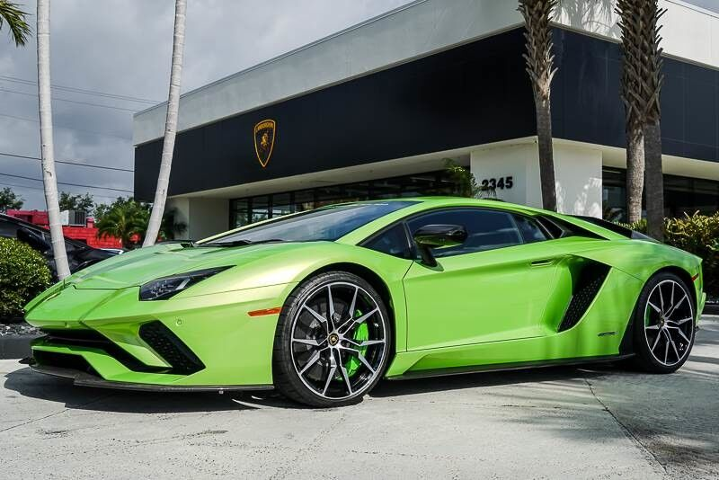 2018 Lamborghini Aventador S West Palm Beach Fl 22903957