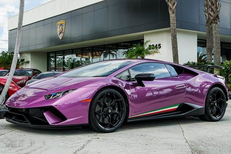 2018 Lamborghini Huracan Performante West Palm Beach Fl 24640793