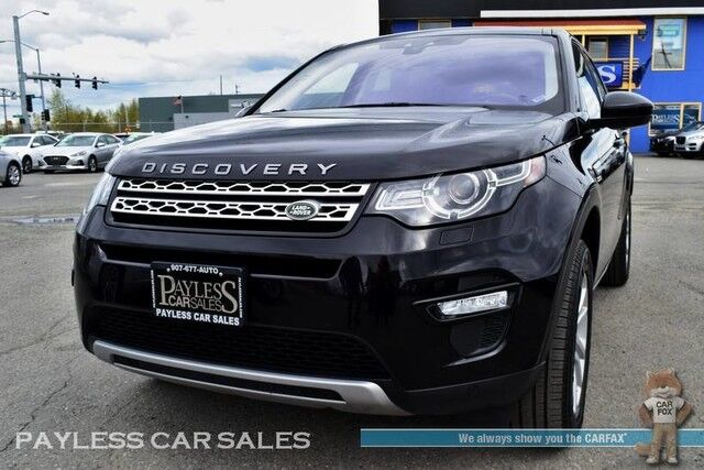 2018 Land Rover Discovery Sport HSE / 4X4 / Turbocharged / Automatic / Front & Rear Heated Leather Seats / Heated Steering Wheel / Meridian Speakers / Panoramic Sunroof / Navigation / Bluetooth / Back-Up Camera / 1-Owner Anchorage AK