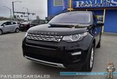 2018 Land Rover Discovery Sport HSE / Turbocharged / AWD / Power & Heated Leather Seats / Heated Steering Wheel / Navigation / Meridian Stereo / Sunroof /Bluetooth / Back Up Camera / 1-Owner