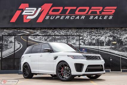 2018 Land Rover Range Rover Sport SVR Tomball TX
