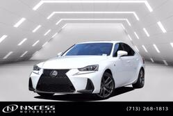 Lexus IS IS 300 F Sport One Owner Factory Warranty. 2018