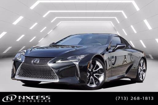 2018 Lexus LC LC 500 Sport Package Factory Warranty! Houston TX