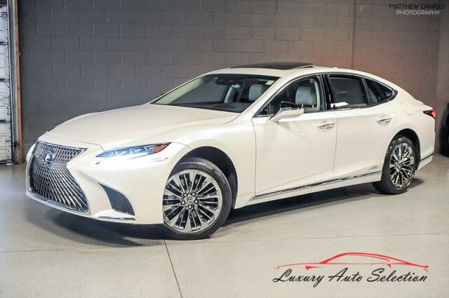 2018_Lexus_LS 500h Luxury AWD_4dr Sedan_ Chicago IL