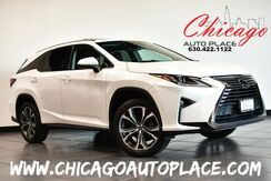 2018_Lexus_RX_RX 350L AWD - Luxury w/3RD ROW 3.5L V6 CYLINDER ENGINE ALL WHEEL DRIVE 1 OWNER NAVIGATION BACKUP CAMERA BROWN LEATHER HEATED/COOLED SEATS SUNROOF POWER LIFTGATE_ Bensenville IL