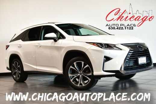 2018 Lexus RX RX 350L AWD - Luxury w/3RD ROW 3.5L V6 CYLINDER ENGINE ALL WHEEL DRIVE 1 OWNER NAVIGATION BACKUP CAMERA BROWN LEATHER HEATED/COOLED SEATS SUNROOF POWER LIFTGATE Bensenville IL