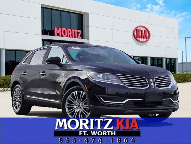 2018 Lincoln MKX Reserve Fort Worth TX