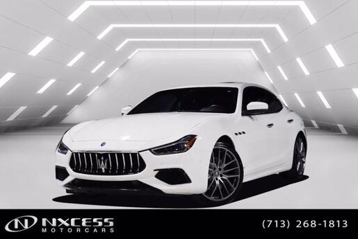 2018 Maserati Ghibli S GranSport Blind Spot Navigation Roof Backup Camera Houston TX