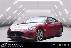 Maserati GranTurismo Convertible Sport Like New Factory Warranty MSRP $164,336! 2018