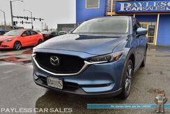 2018_Mazda_CX-5_Grand Touring / AWD / i-ACTIVSENSE Pkg / Power & Heated Leather Seats / Navigation / Sunroof / Adaptive Cruise / Bose Speakers / Lane Departure Alert / Power Liftgate / Keyless Start / USB & AUX Jacks / 1-Owner_ Anchorage AK