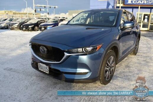 2018 Mazda CX-5 Touring / AWD / Heated Leather Seats / Sunroof / Navigation / Adaptive Cruise Control / Lane Departure & Blind Spot Alert / Bluetooth / Back Up Camera / 30 MPG / Only 10k Miles / 1-Owner Anchorage AK