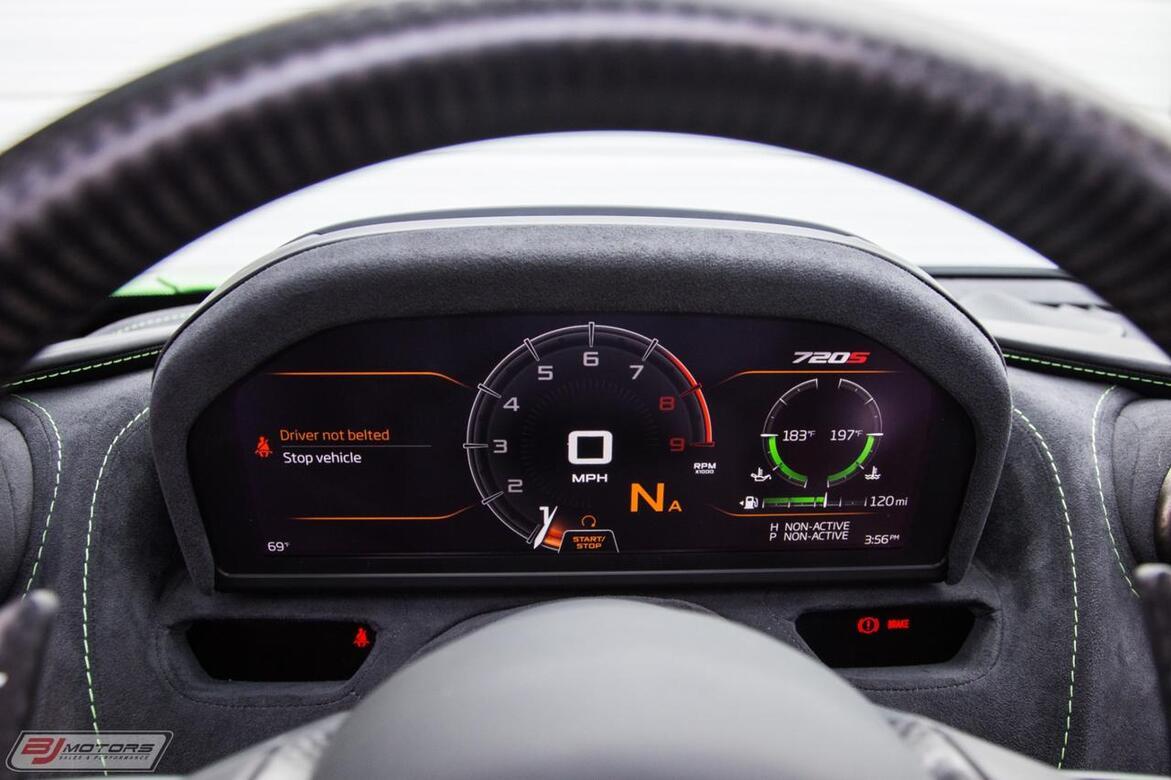 2018 McLaren 720S Performance MSO Mantis Green Tomball TX