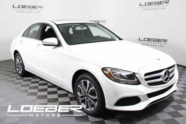 2018 mercedes benz c 300 4matic sedan lincolnwood il 20057279 for Mercedes benz chicago service center