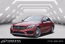 Mercedes-Benz C-Class AMG C 43 Designo Package MSRP $68905 Loaded Factory Warranty. 2018