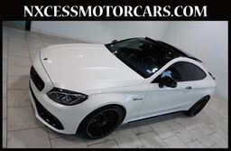 Mercedes-Benz C-Class AMG C 63 S BITURBO PANO-ROOF BURMESTER AUDIO 1-OWNER JUST 6K MILES. 2018