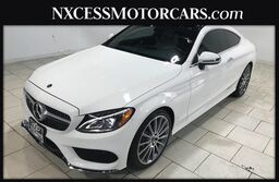 Mercedes-Benz C-Class C 300 COUPE SPORT 1OWNER NAV MOONROOF 2018