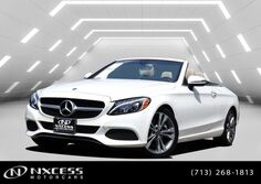 Mercedes-Benz C-Class C 300 Cabriolet 2K Miles Factory Warranty. 2018