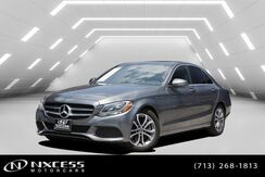 2018_Mercedes-Benz_C-Class_C 300 Designo Package, Sport Package, Blind Spot Assist, Rear View Monitor, Smart Phone Integration_ Houston TX