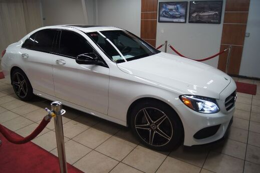 2018 Mercedes-Benz C-Class C 300 WITH RED ROSSO INTERIOR Charlotte NC