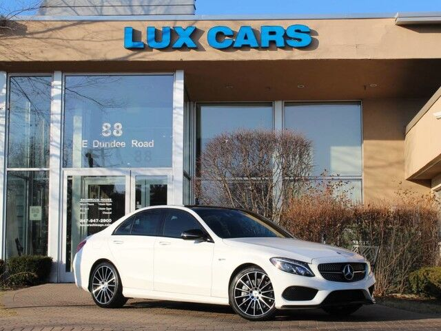 2018_Mercedes-Benz_C43_AMG PANOROOF NAV 4MATIC MSRP $70,145_ Buffalo Grove IL