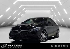 2018_Mercedes-Benz_CLA_AMG CLA 45 Clean Carfax Factory Warranty._ Houston TX