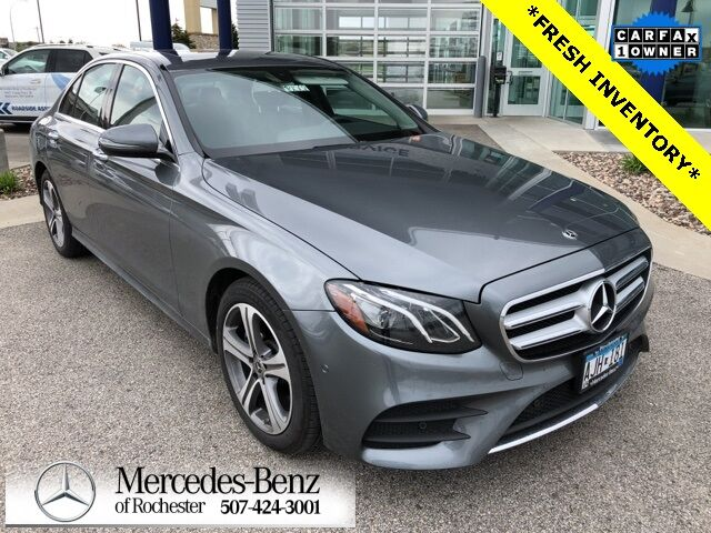 2018 Mercedes-Benz E 300 4MATIC® Sedan Rochester MN