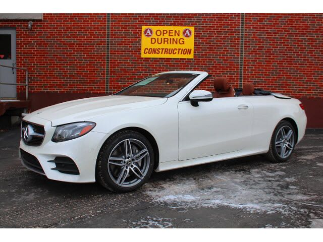 2018 mercedes benz e 400 4matic cabriolet merriam ks 22410851 for Mercedes benz of kansas city aristocrat