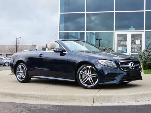 2018 Mercedes-Benz E 400 4MATIC® Cabriolet Kansas City KS