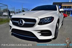 2018_Mercedes-Benz_E 400 Coupe_4Matic AWD / 3.0L Biturbo V6 / Heated & Ventilated Leather Seats / MBUX Navigation / Sunroof / Burmester Speakers / Auto Start / Bluetooth / Blind Spot Assist / Collision Alert / Back Up Camera_ Anchorage AK