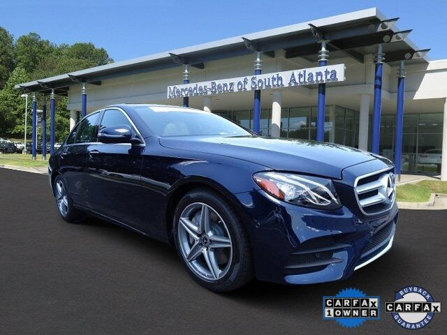 Used 2018 Mercedes Benz E Class E 300 In Atlanta Ga